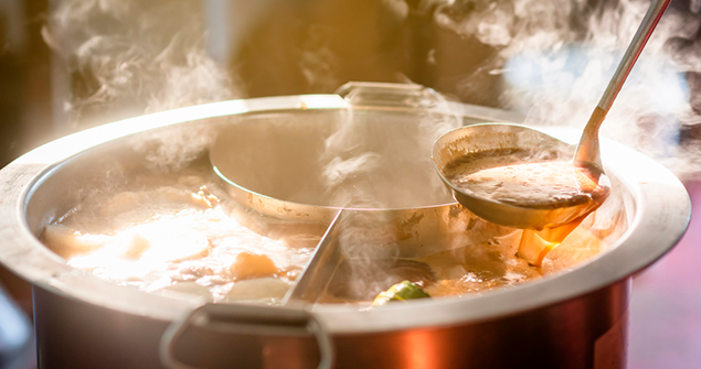 dicas sobre como fazer comida para muita gente